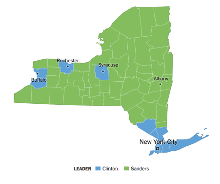 NYTimes Election Map