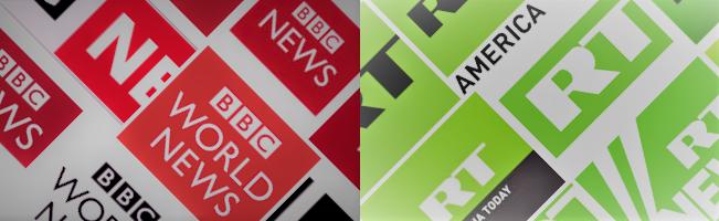 BBC-v-RT News Logos.png